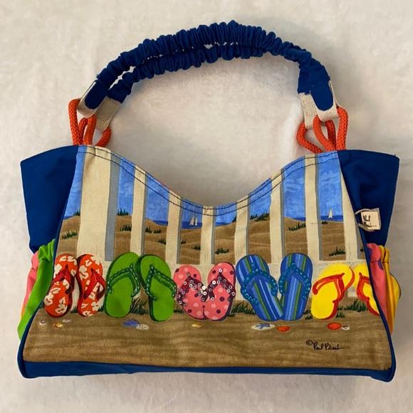 Sun N Sand by Paul Brent Flip Flops Tote Bag